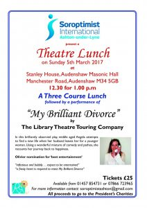 Theatre Lunch Flyer