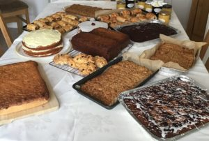 SI Barrow, UK, organised teams of bakers to provide tasty desserts for women and their families at their local Women's centre