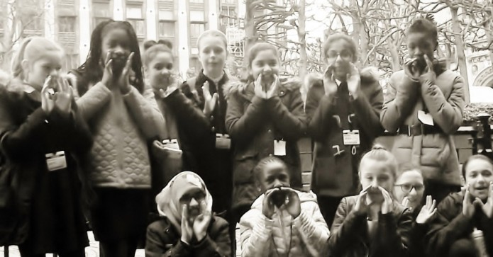 April 2015 Winner - SI Croydon Loud & Proud Girls from Public Speaking Competition