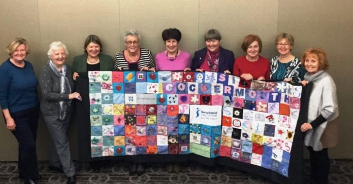 April 2017 - Northern England Soroptimists Stop the Traffik Global Blanket Campaign
