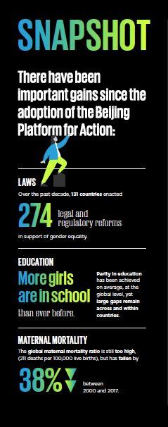 Beijing Platform for Action statistics