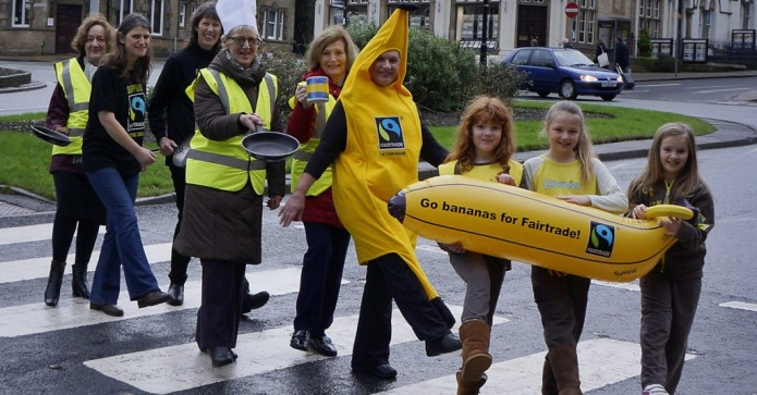 February 2016 winner - Ilkley Soroptimists preparing for their Fairtrade Fortnight event