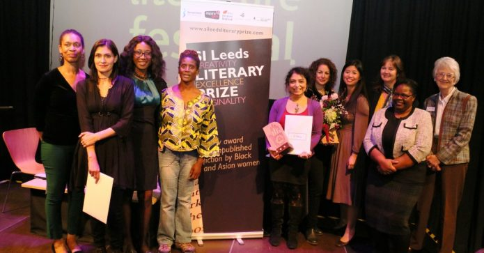 February 2017 - SI Leeds at their Literary Prize which is the award for unpublished fiction by Black and Asian women