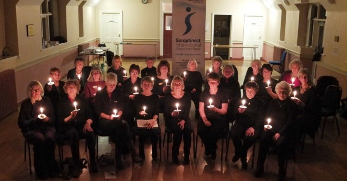 January Winner Grange over Sands Candle Lit Vigil for the Peshawar victims