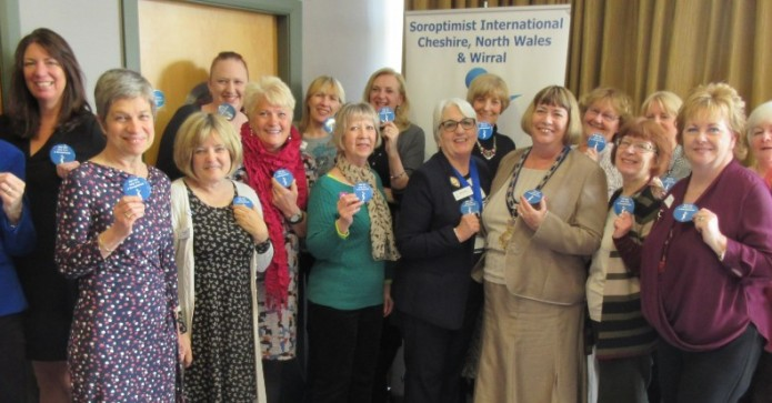 May 2016 Winner - Cheshire, North Wales and Wirral Meeting Members with Badges