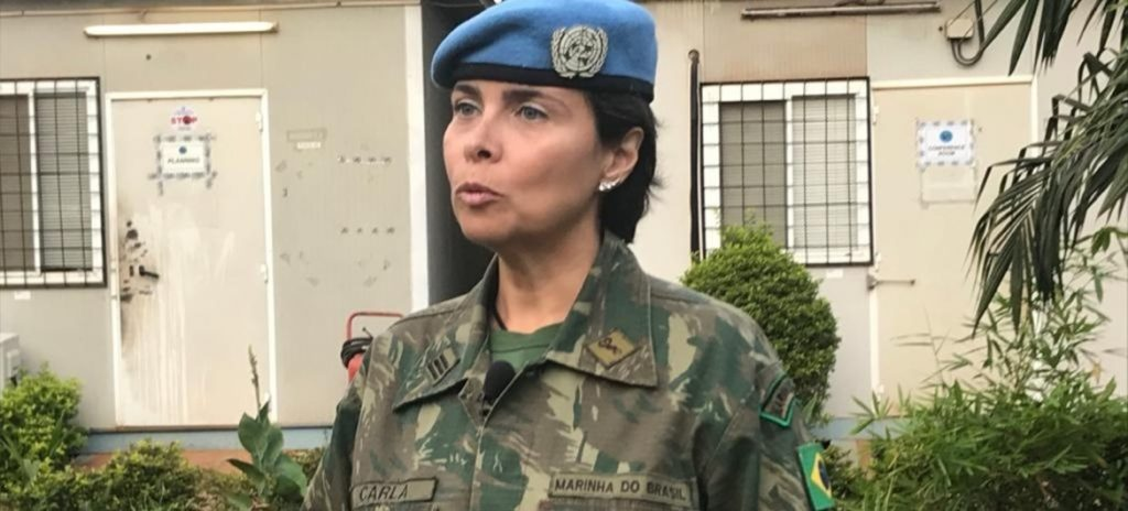 Major Gwani Woman peacekeeper
