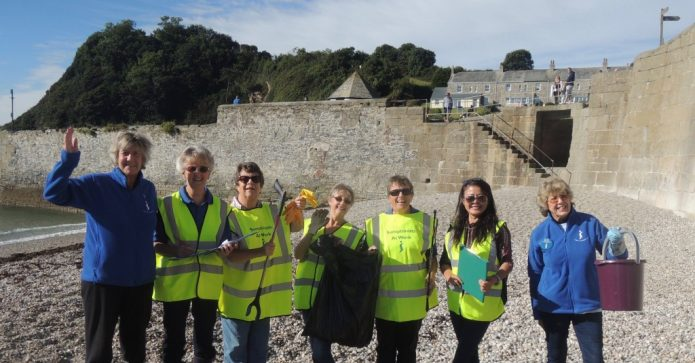 September 2016 - St Austell took part in the Annual Marine Conservation Society Beachclean & Survey