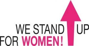 We stand up for women