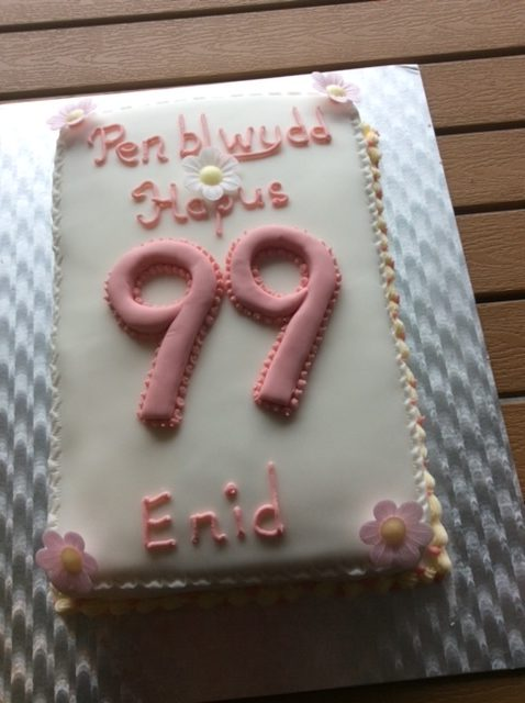 Enid's birthday cake