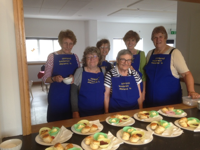 Raising funds with a Cream Tea at Westward Ho.