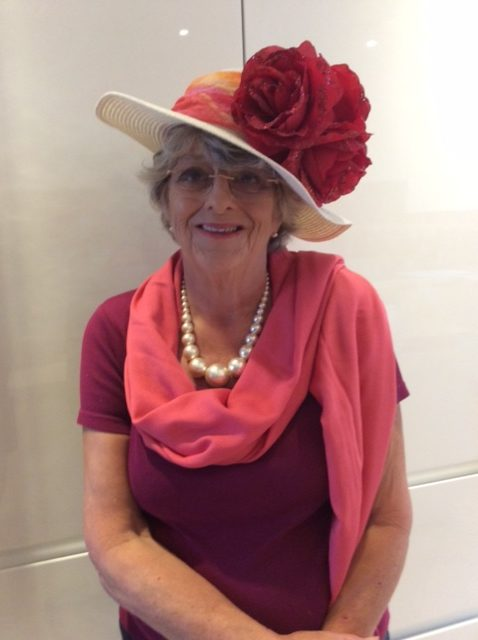 Susie was the winner of the Virtual Ascot Hat competition.