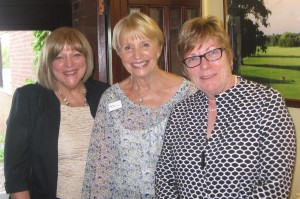 International President Ann with Joan and Elaine