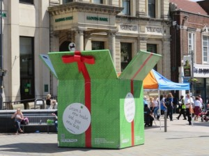 Gift Box in Queen'sSquare