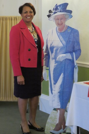 Barbara welcomes 'Her Majesty' Queen Elizabeth on her birthday.