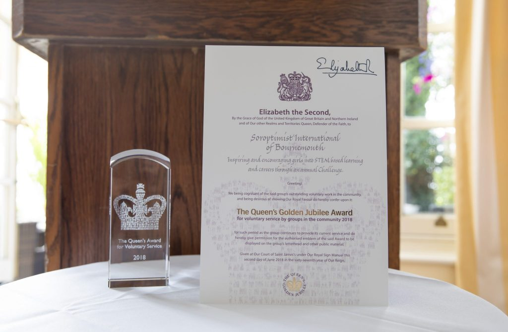 QAVS crystal & certificate