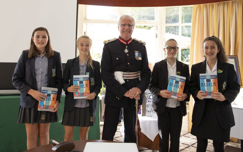 Winners with Lord Lieutenant