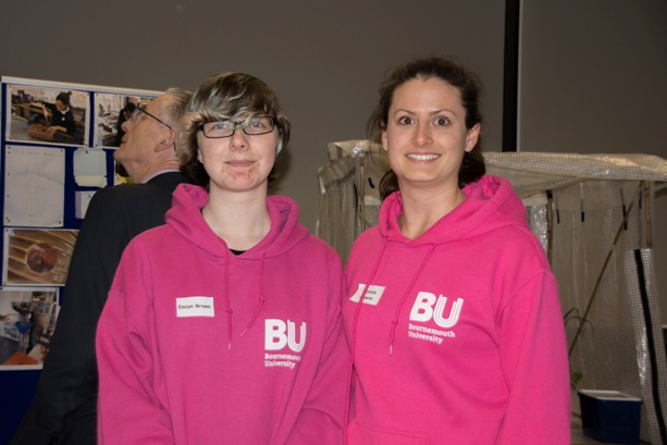 Thank you to Bournemouth University STEM Ambassadors for showing girls and parents the campus.