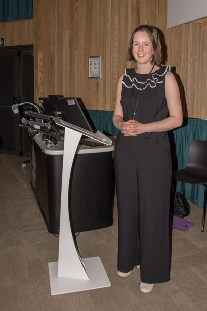 Our inspirational speaker Esther Gordon-Smith from Highways England..........