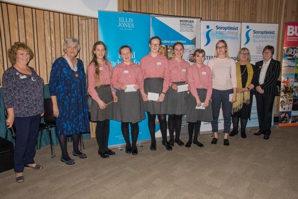 Y8 Winners from Knighton House School..........