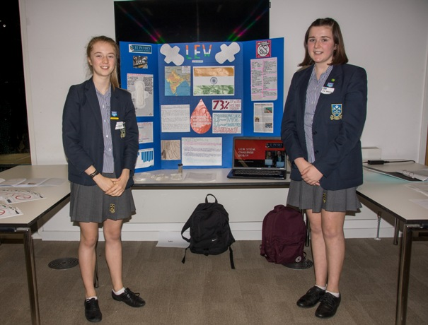 Y9 St Peters with their LEW project..........