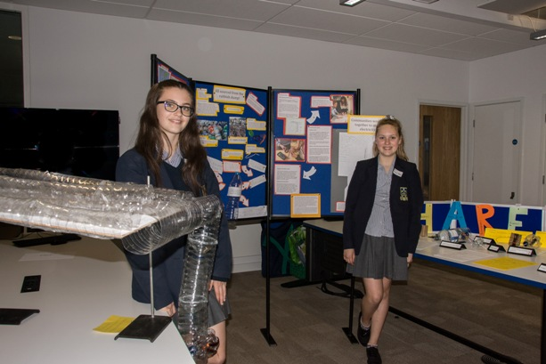 Y8 St Peters with their FEAJ project