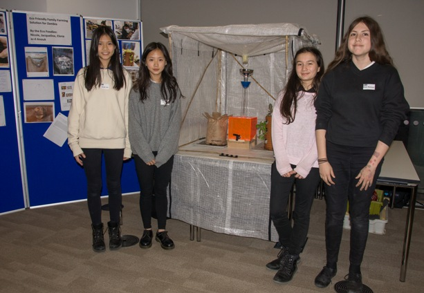 Y9 Bryanston with their Eco-Foodies project