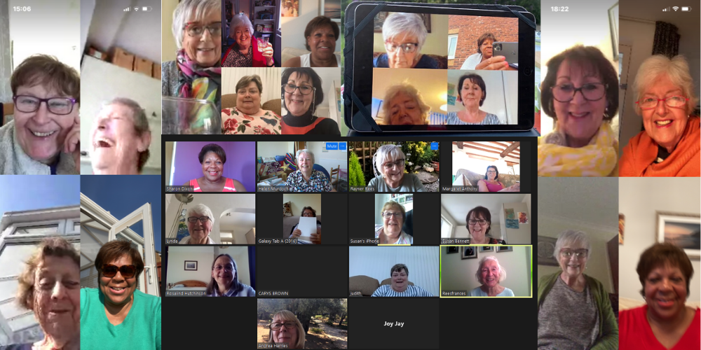 Bridgend Soroptimists meeting virtually