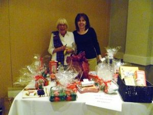 The array of raffle prizes