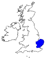 Area covered by London Anglia Region
