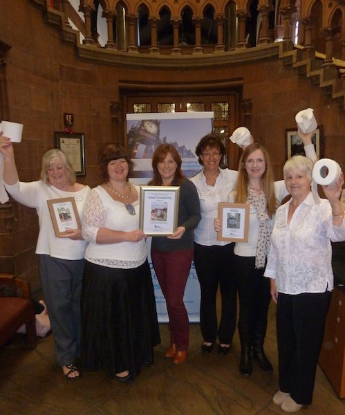 Soroptimist Chester working with Toilet Twinning