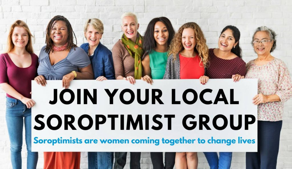 Join your local Soroptimist Group