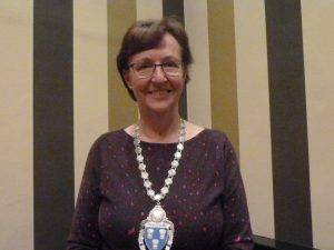 Carole is installed as new Club President