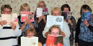 Range of books enjoyed at book club