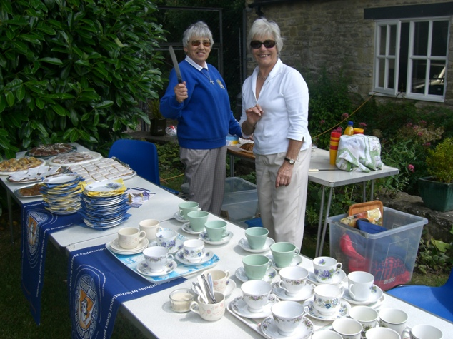 Muriel and Annie Garden Party Tea Ladies
