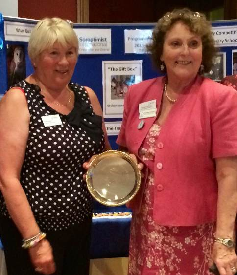 Ellen Brawn Plate (2) award June 2014