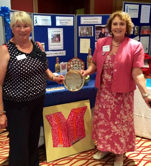 Ellen Brawn Plate award June 2014
