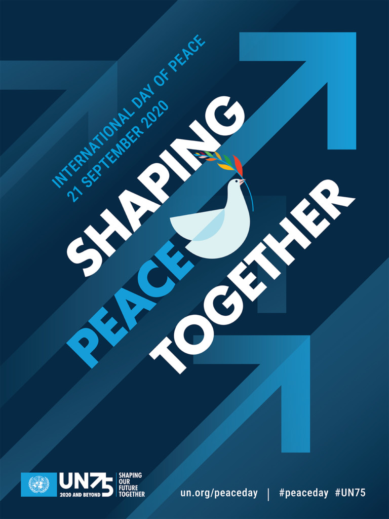 UN 75 Anniversary Shaping Peace Together