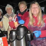 soroptimists at jospice light up a life service