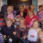 soroptimists and backpacks