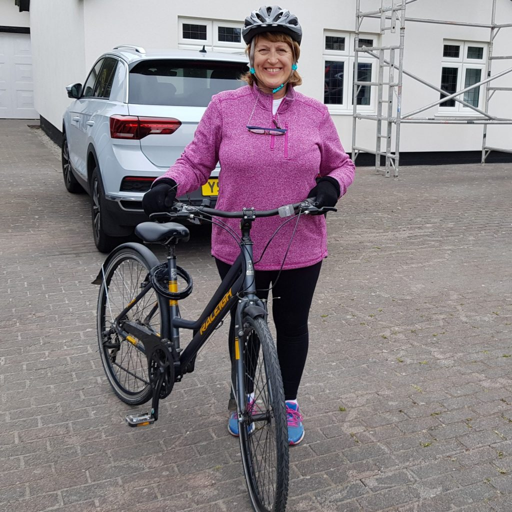 Soroptimist ready for bike ride