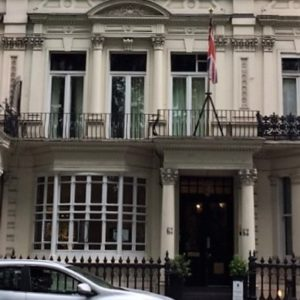 63 Bayswater Road boutique hotel
