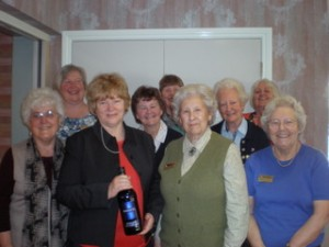 Soroptimists who helped out on the day