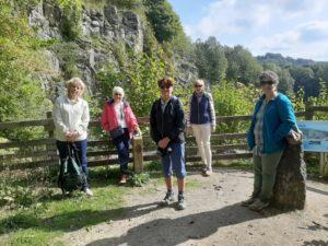 Club members enjoying the sunshine in September 2021