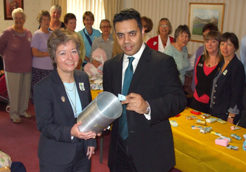 President Margaret & Shahild Malik