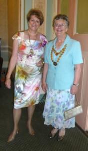 President Elaine + SI Yorkshire President Val Jenkins