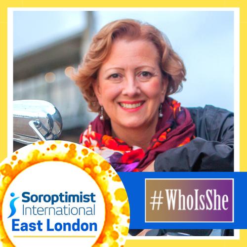 Soroptimist East London member Alison Charles