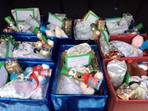 Christmas boxes for Eastbourne Refuge