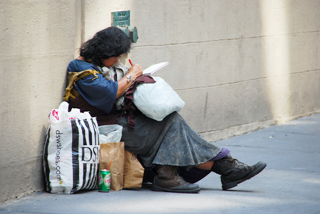 Transform Housing & Support give support to street homeless people