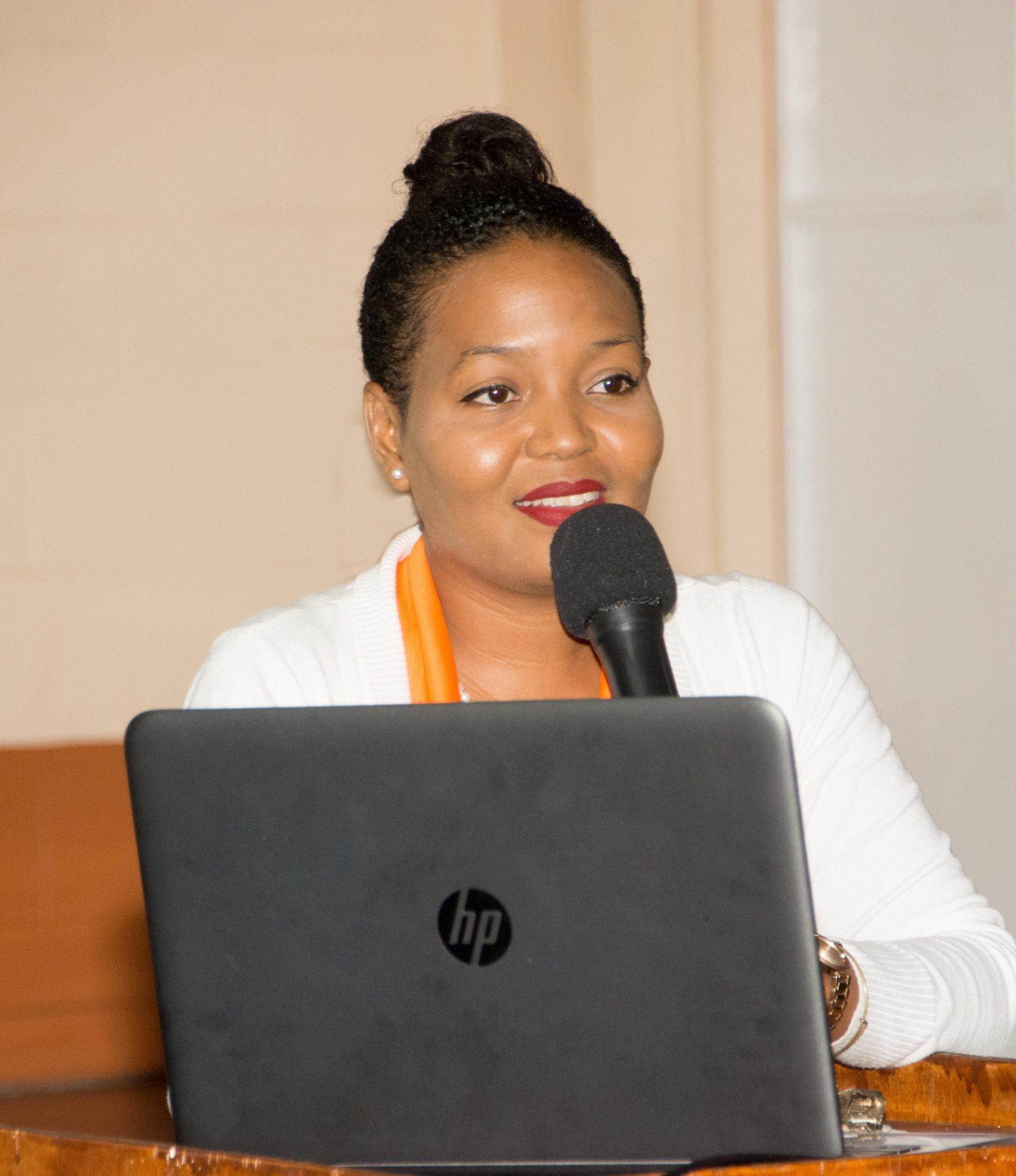 Clinical Psychologist Ms. Leslie-Ann C. Tyson the facilitates the programme.