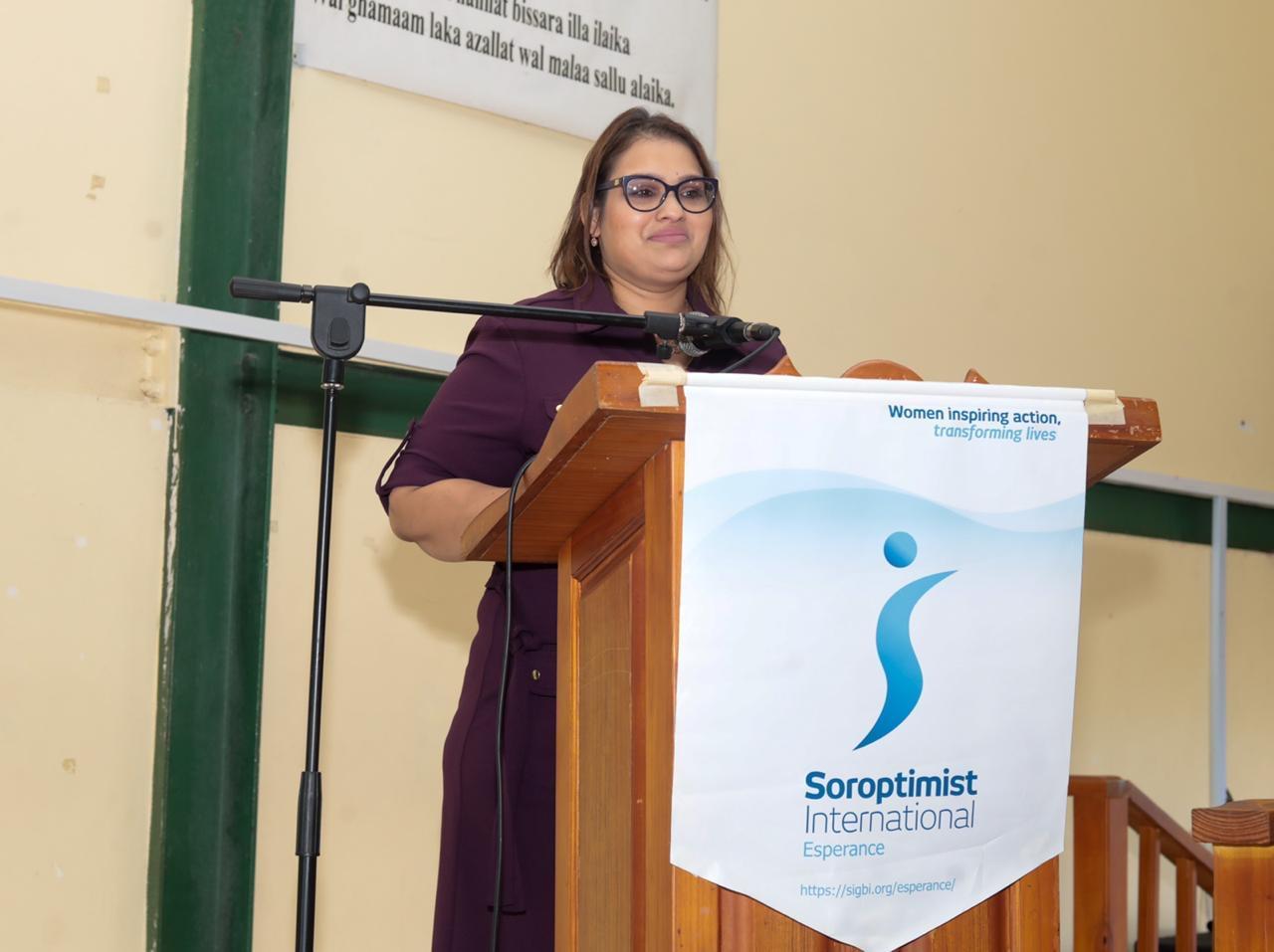 Speaker Deana Samlal Ramlochan